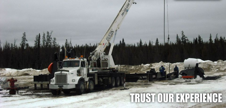 Trust Our Experience | Work site