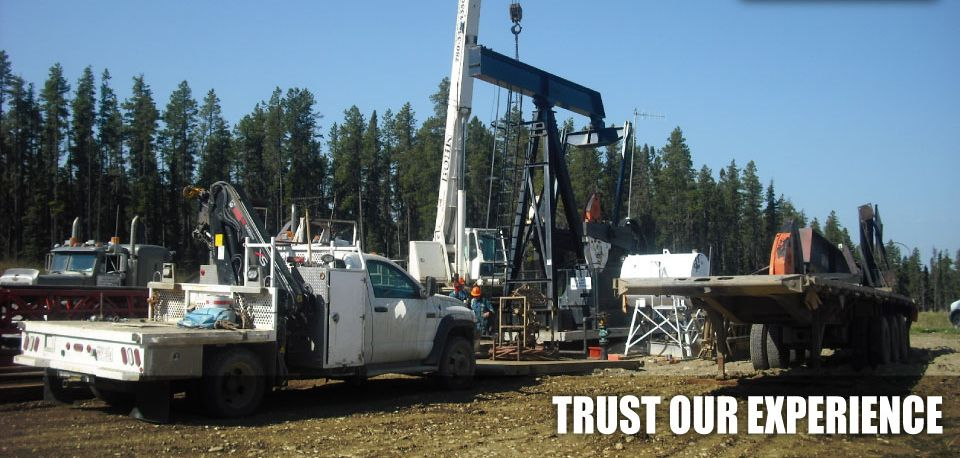 Trust Our Experience | Constructing oil rig
