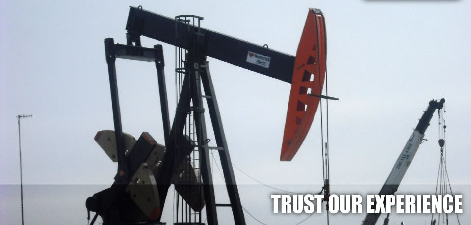 Trust Our Experience | Working oil rig